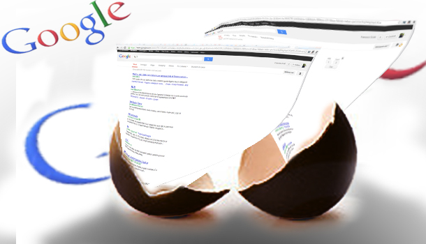 Sorprese dalle uova di pasqua di google
