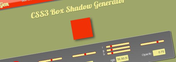 box shadow generator