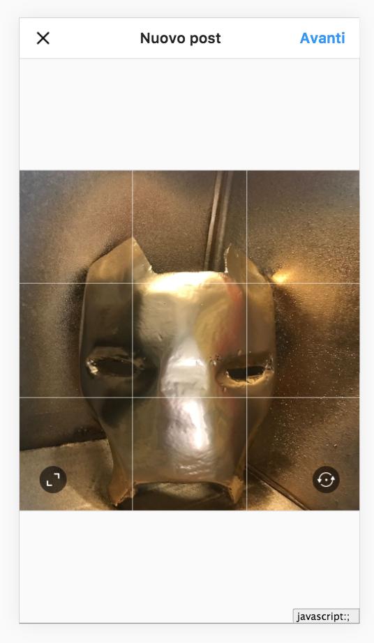 caricare foto Instagram